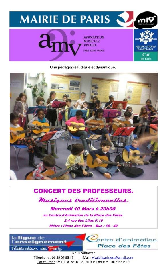 flyer concert mars